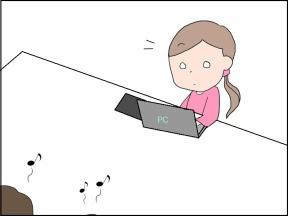【4コマ漫画】お母さんのマネ