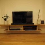 『造作テレビボートとテレビ周辺のこだわりまとめ』の画像