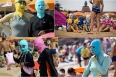 中国のおばちゃんの間で流行してる「日焼け防止顔面マスク」がヤバイ