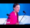 16歳の女子高生環境活動家トゥンベリさん「よくもそんなことを」「自分たちの世代を裏切った」怒りの国連演説