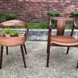 『【究極の板座チェア】日進木工・CHORUSとフジファニチャー・nagiを比較』の画像