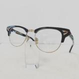 『Mr.Gentleman Eyewear、ブローメガネ「BUDDY」再入荷』の画像