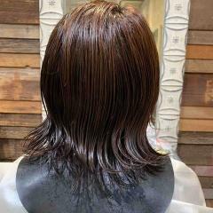 表参道 神宮前 東京都内で美髪パーマが得意な美容室ミンクス原宿 須永健次 レイヤーボブに大人めなエアーウェーブをかけてみました