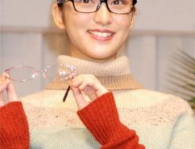 武井咲、メガネをかけた結果wwwwwwww