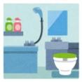 風呂トイレ一緒なんだがいつもトイレットペーパーが湿気でビチョビチョ