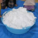 『室内で雪あそび!?』の画像