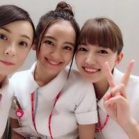 川口春奈&岡田結実&佐藤仁美、美人看護師3ショットが「かわいすぎ」