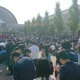 『【乃木坂46】尋常じゃない人の数・・・本日の全握@インテックス大阪 待機列の様子がこちら・・・』の画像