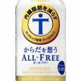 『【新商品】ブランド初の機能性表示食品「からだを想うオールフリー」新発売』の画像