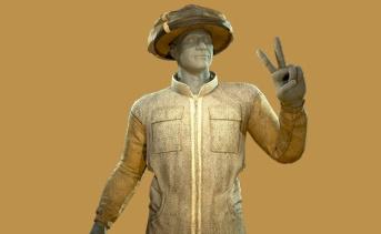 養蜂家の衣装
