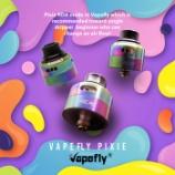 『【vapefly PIXIE RDA】22mmサイズのコンパクトなDL特化型ドリッパーVapefly (ベイプフライ) PIXIE (ピクシー) RDA』の画像