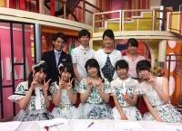横道侑里が横山由依、D2メンバーと一緒に静岡のテレビ・ラジオ番組に出演!