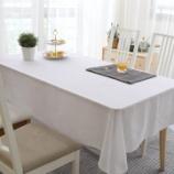 『テーブルクロス紹介NO.10 うすいレース生地のテーブルクロス(白)』の画像