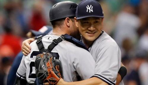 田中将大メジャー3度目の完封!ヤンキースファンから「シーズン後半に強いタナカ」と崇められる
