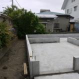 『続! 週末住宅建築日記 その6 基礎工事 脱枠完了です』の画像