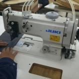 『JUKI LU-1510-7(総合送り自動糸切りミシン)&JUKI DDL-5570N(本縫い自動糸切りミシン)などを納品しました!』の画像