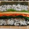 巻き寿司の巻き方 & 盛り付け練習 & 「岡山県レシピ開発チーム」
