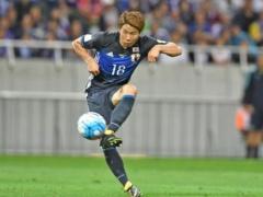 【 日本代表×オーストラリア 】前半終了!終盤に長友のクロスに浅野が飛び出してゴール!日本が1-0とリードして後半へ!