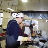 『男の料理と新春交流会』の画像
