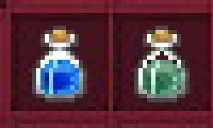 魔法攻撃力増加ポーションと精霊武器の蘇生薬は単なる色違いだった