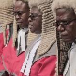 『ジンバブエ裁判官の伝統に則った「カツラ」の件。#jwave』の画像