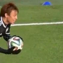 【動画】今、ヨーロッパで日本人によるゴールパフォーマンスが話題