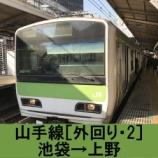 『山手線 車窓[外回り・2]池袋→上野』の画像