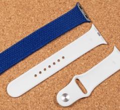 Apple Watch Series 6 ブルーアルミニウム レビュー 第2回:ブレイデッドソロループの長さをスポーツバンドと比べてみた。