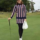 『冬でもゴルフをオシャレに楽しむ♪冬の女子ゴルフコーデ2015⛄ 【ゴルフまとめ・ゴルフウェア 秋 】』の画像