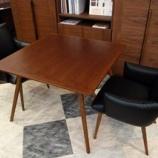 『フジファニチャーの「nagi」テーブルに「novo」チェアをセット』の画像