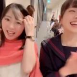 田中美久と松岡はなが指原莉乃と会った時の動画www