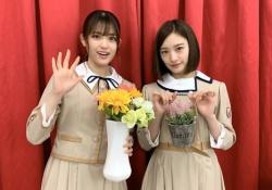 春らしいw 松村沙友理&中田花奈、淡い色合いの新制服を着こなすwwwww