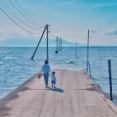 「日本には千と千尋の神隠しみたいな海の道がある」海外で話題になったシュールレアリズム画像集