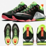 "『7/2 発売 Nike LeBron 12 Low""Green Strike""』の画像"