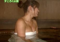 久松郁実ちゃんのバスタオル1枚入浴姿がエロすぎると話題に!