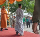 インドネシアの男性 オンラインゲームをしたため公開鞭打ちの刑