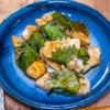 刺身でも焼いても合う大葉「鯛の大葉巻きバター醤油焼き」&「カップヌードル欧風チーズカレー」が意外にマイルド