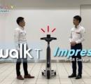 歩行者と並走できる 立ち乗り型の小型EV「トヨタC+walk T」発売