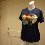 『DUAL VIEW(デュアルヴュー)ビジュースマイリーTシャツ』の画像