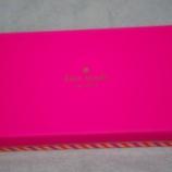 『先日大阪で当たった宝くじで、新しいお財布「kate spade」購入しました!』の画像