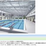 『戸田市スポーツセンター屋内プール新築工事の基本設計書が公開されました』の画像