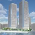 地上56階、高さ約189m「豊海地区第一種市街地再開発事業」の事後調査計画書が公開!総戸数2150戸のツインタワマンが2026年度に竣工予定!