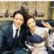 高岡早紀「とても男っぽい素敵な俳優さん」とのツーショットに反響 ファン「美男美女」
