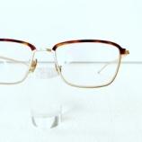 『Mr.Gentleman Eyewear 斬新な新型ブロウフレーム『NOEL』』の画像