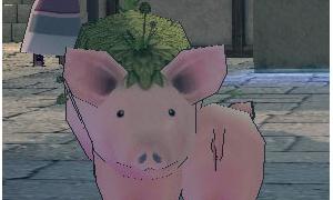 どこかおかしい豚…
