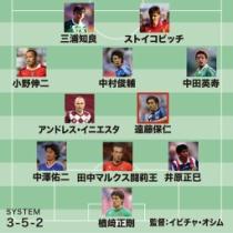 サッカー関係者54人が選出!「Jリーグ歴代ベスト11」www