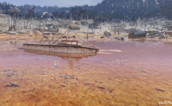 有毒の干上がった湖底(Toxic Dried Lakebed)