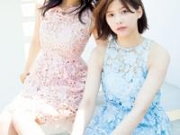 「ヤンマガ」グラビアの菅井友香と渡邉理佐が美しすぎる...(画像あり)