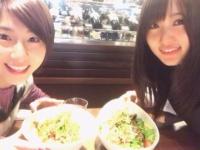 【欅坂46】菅井友香が元乃木坂46メンバーとご飯に行った模様