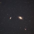 『おおぐま座の銀河(M81&M82)』の画像